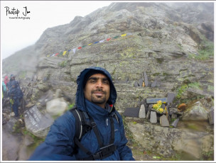 Selfie at Hampta Pass