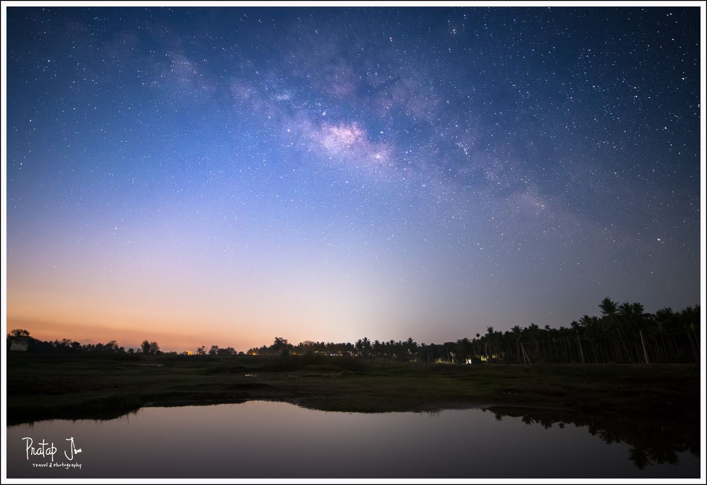 Milky Way near Bangalore