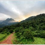 Sunrise at Silent Valley National Park in Kerala.