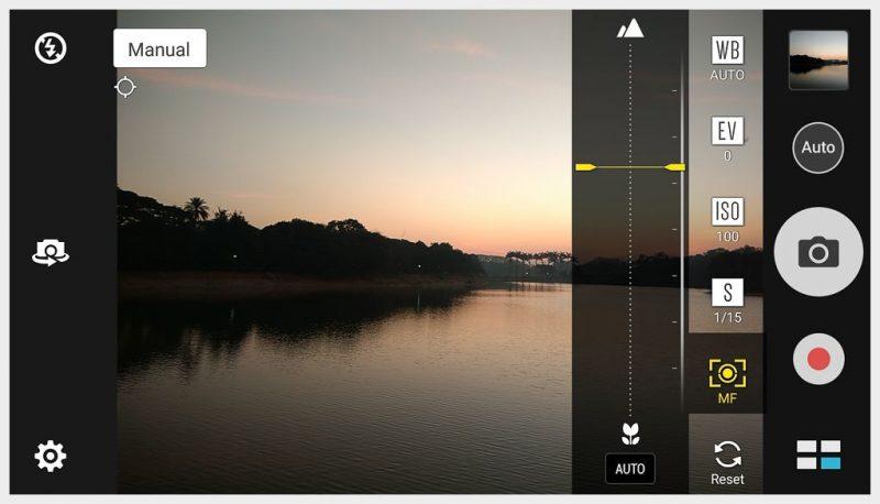Asus Zenphone 3 Max Manual Focusing Camera settings