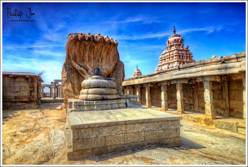 Linga at Lepakshi Temple near Bangalore