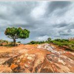 Rain clouds at Melkote