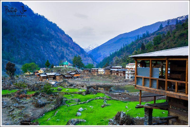 Village of Taluka on the Har-Ki-Dun Trek
