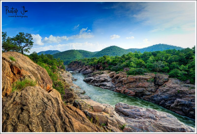 A view of Mekedaatu, which is a Day Trip from Bangalore
