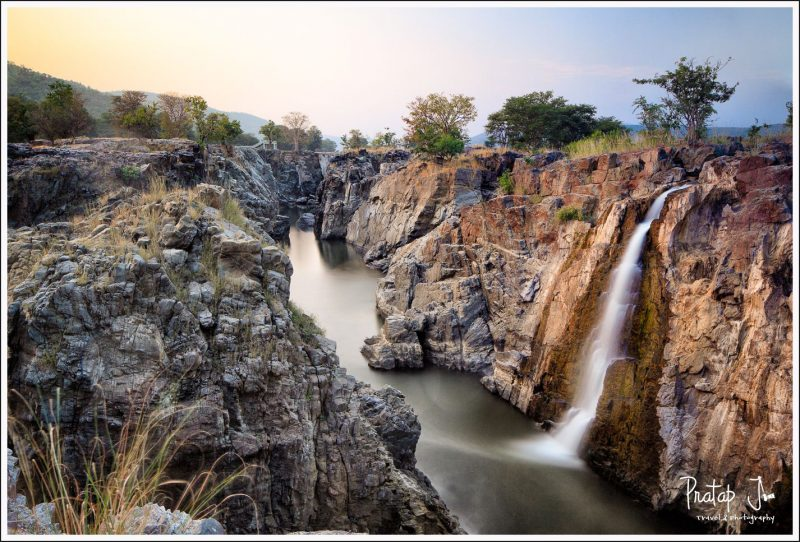 A view of the river Cauvery at Hogenakkal Falls