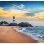 Lighthouse at Kaup Beach, Karnataka