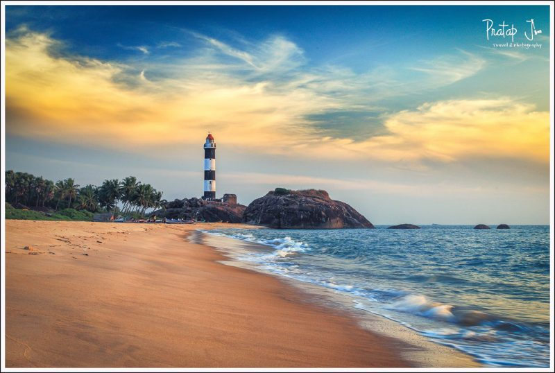 Lighthouse at Kaup Beach, Karnataka