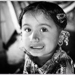 Portrait of a Rabri child in Bhuj