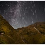 Star Trails in the Himalayan