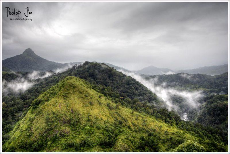 Poochapara Peak at Silent Valley National Park