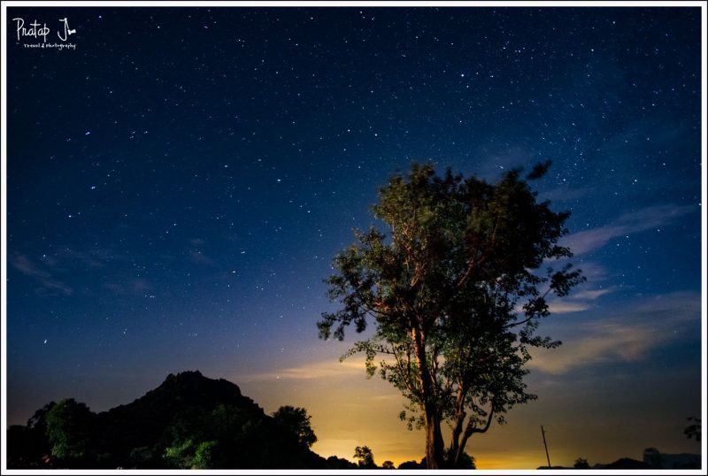 Night Sky near Kanakapura