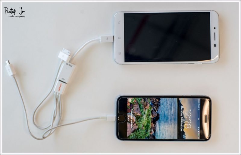 OTG charging with Asus Zenphone 3 Max