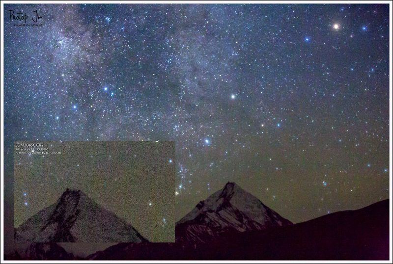 High ISO astro photography