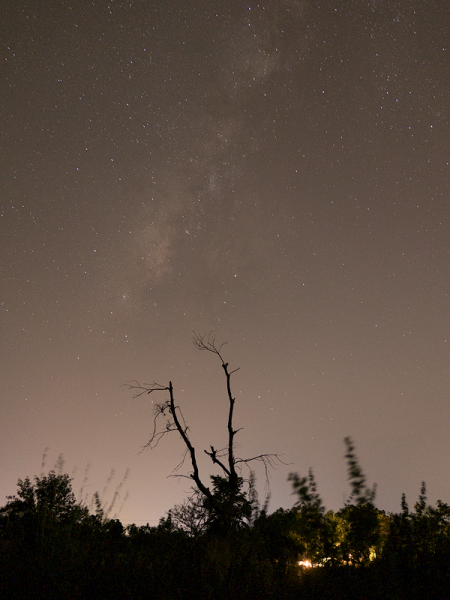Milky Way Before Processing