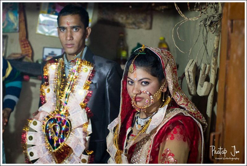 Gharwali Bride and Groom