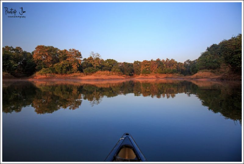 Early Morning Fishing in the Denwa river