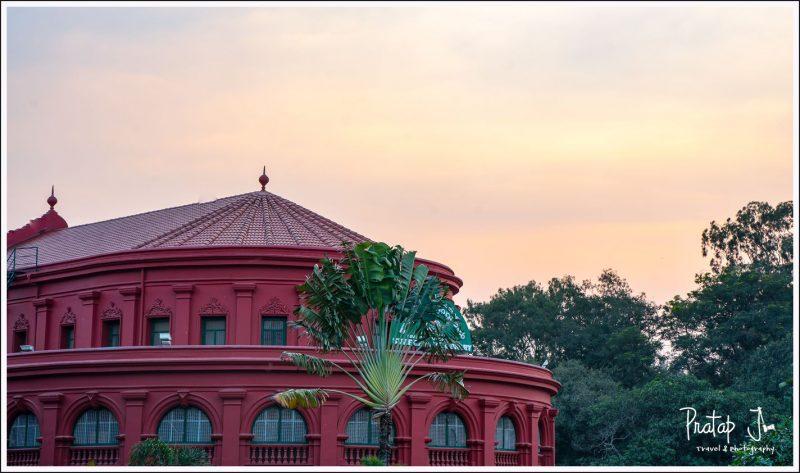 Central Library in Cubbon Park Bangalore