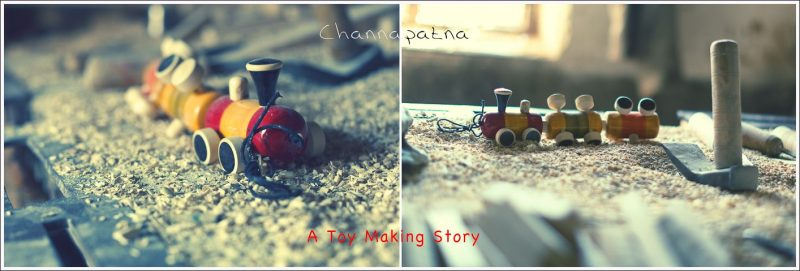 Making of Channapatna Toys