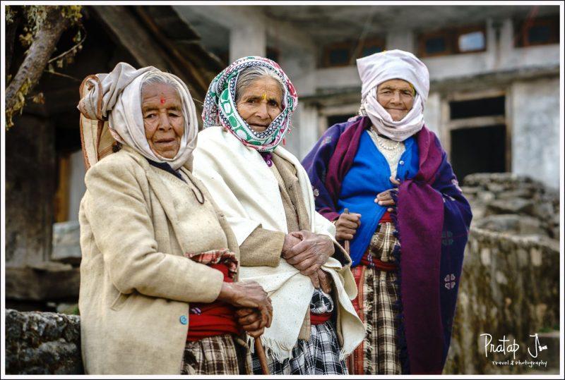 Elderly women of Raithal