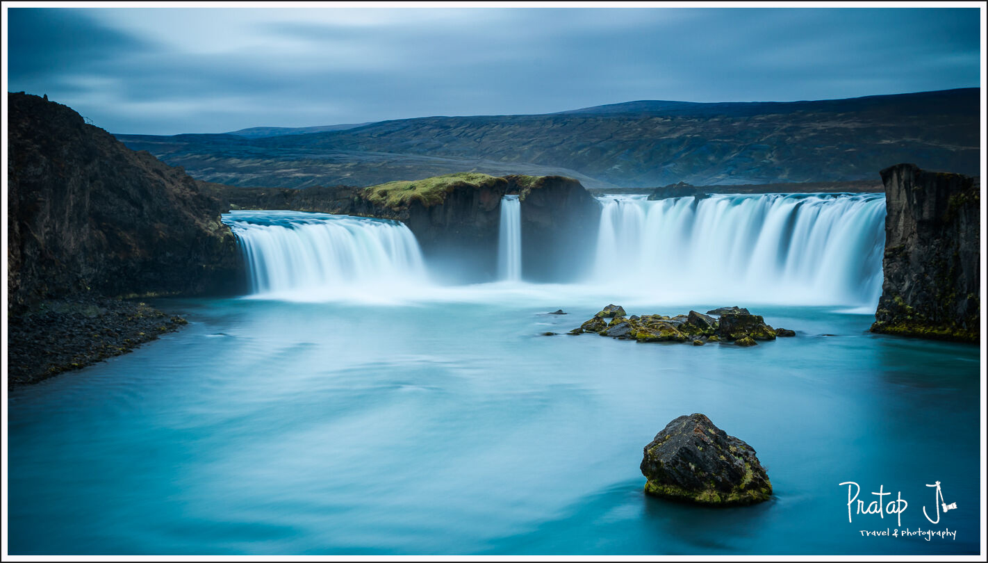 Godafoss or the waterfalls of the gods