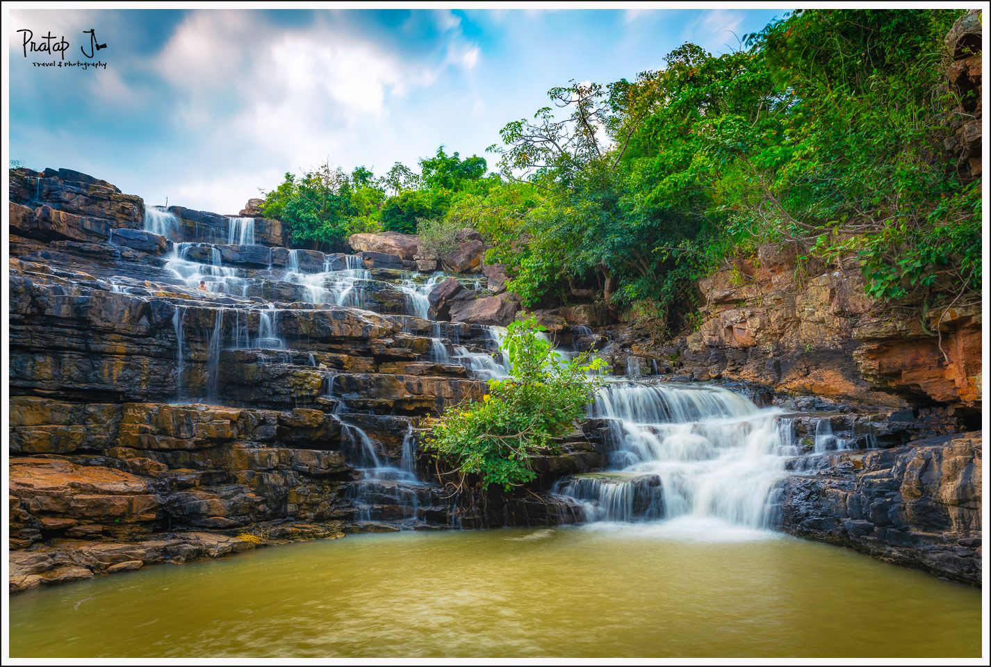 Chitradhara Waterfall near Jagdalpur