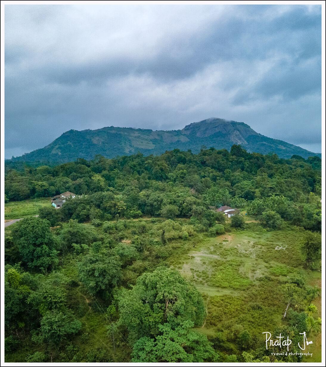 View of Kundadri Hill near Thirthahalli