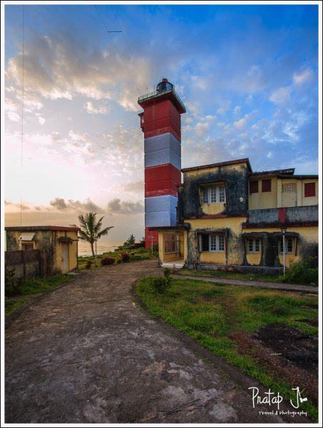 Lighthouse at Surathkal Beach