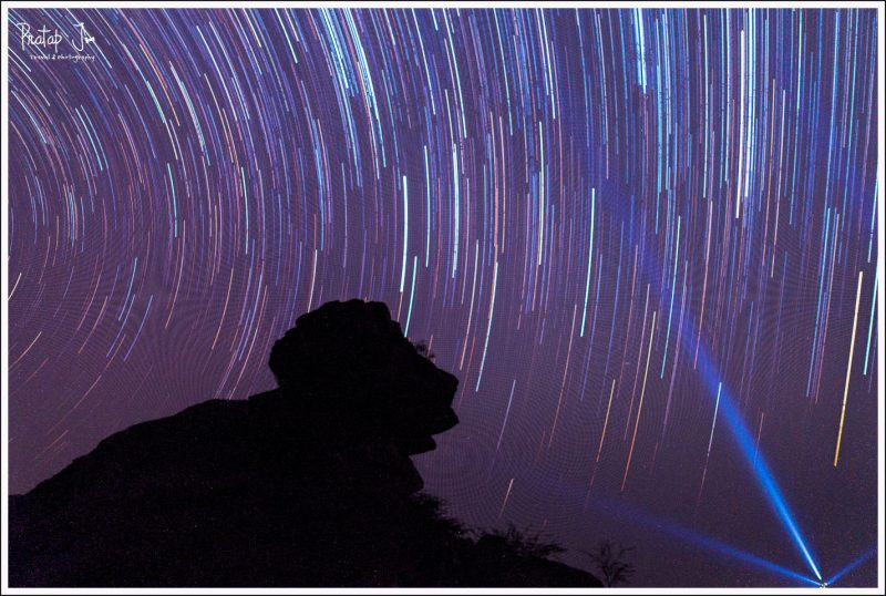 Star trails with RX100