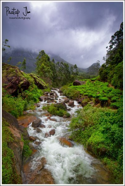 Seasonal stream in Munnar
