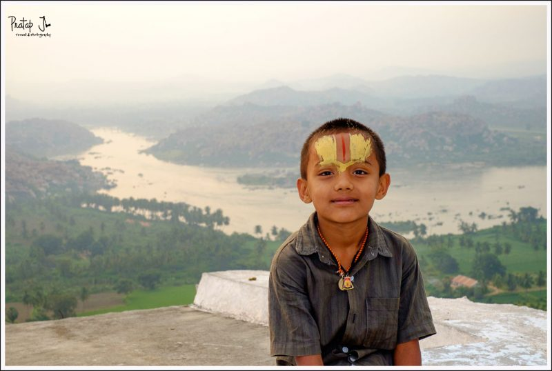 The boy's name was Seetharama but he was as mischievous as Lord Krishna