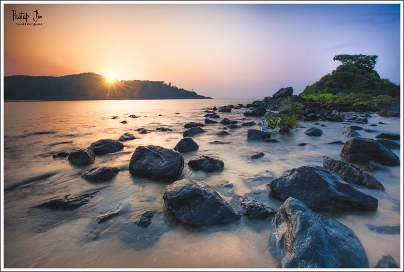 Gokarna Om Beach Sunrise