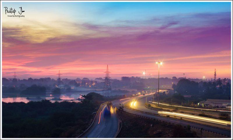 Bangalore at Twilight