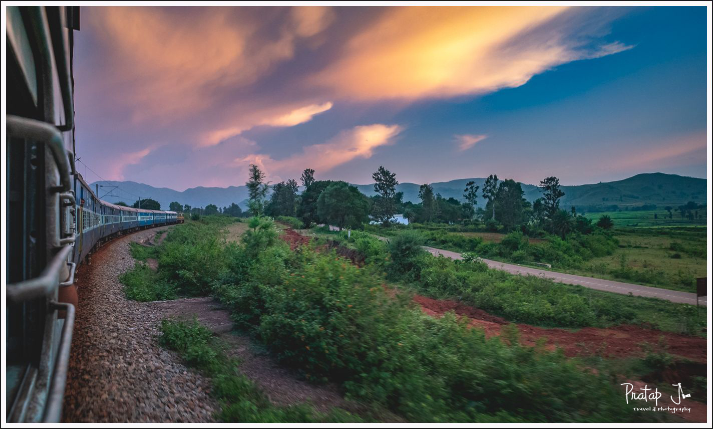 Araku Valley by train