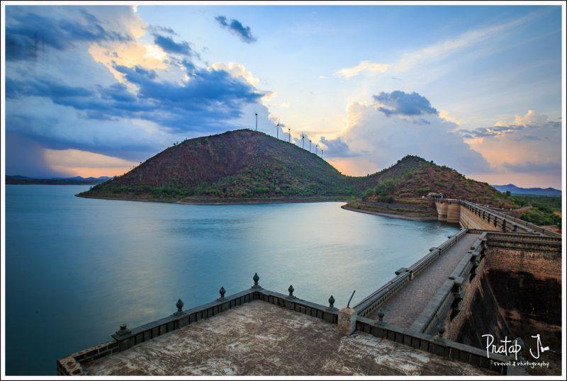 Bracketed image of Vani Vilas Sagar Dam